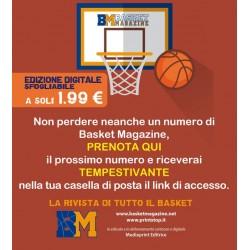 Prenotazione Basket Magazine Digital Edition