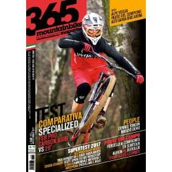 365Mountainbike n.60 Gennaio 2017 edizione cartacea