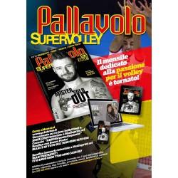 Abbonamento biennale FULL a Pallavolo SUPERVOLLEY  cartaceo e digitale (20 numeri)