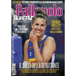 Pallavolo SUPERVOLLEY n.7-8 Cartaceo Luglio/Agosto 2018