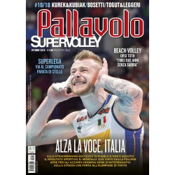 Pallavolo SUPERVOLLEY n.10 Cartaceo Ottobre 2018