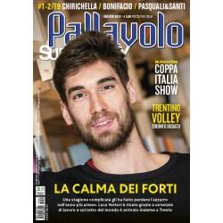 Pallavolo SUPERVOLLEY n.1-2 Cartaceo Gennaio-Febbraio 2019