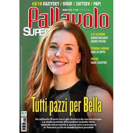 Pallavolo SUPERVOLLEY n.3 Cartaceo Marzo 2019