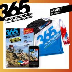 Abbonamento FULL 365mountainbike cartaceo+digitale annuale (10 numeri) + Maglietta