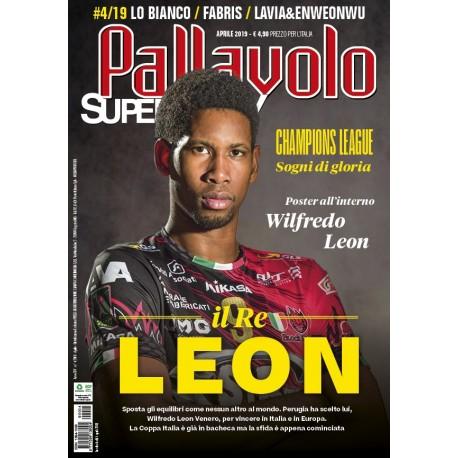 Pallavolo SUPERVOLLEY n.4 Cartaceo Aprile 2019