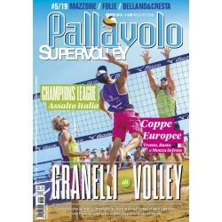 Pallavolo SUPERVOLLEY n.5 Cartaceo Maggio 2019