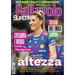 Pallavolo SUPERVOLLEY n.6 Cartaceo Giugno 2019