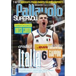 Pallavolo SUPERVOLLEY n.7-8 Cartaceo Luglio/Agosto 2019