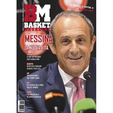 Basket Magazine 57-58 Cartaceo Luglio-Agosto 2019