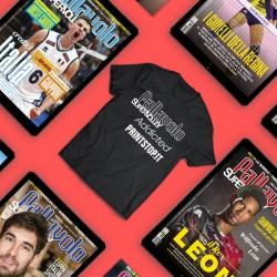 Abbonamento FULL a Supervolley + maglietta (10 numeri)