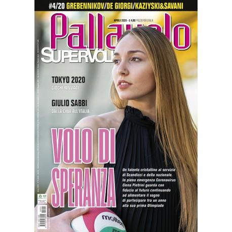 Pallavolo SUPERVOLLEY n.4 Cartaceo Aprile 2020