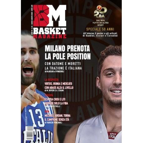 Basket Magazine 64 – Luglio-Agosto 2020