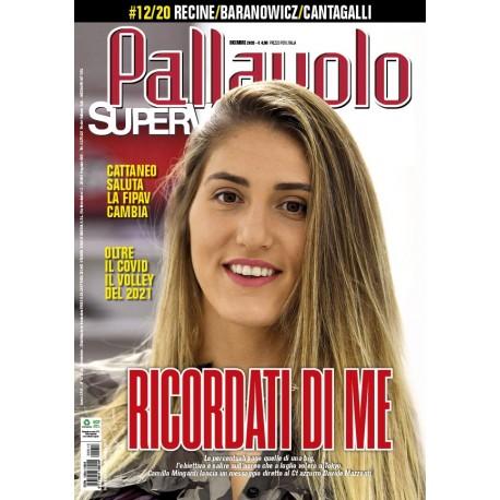 Pallavolo SUPERVOLLEY n.10 Cartaceo OTTOBRE 2020
