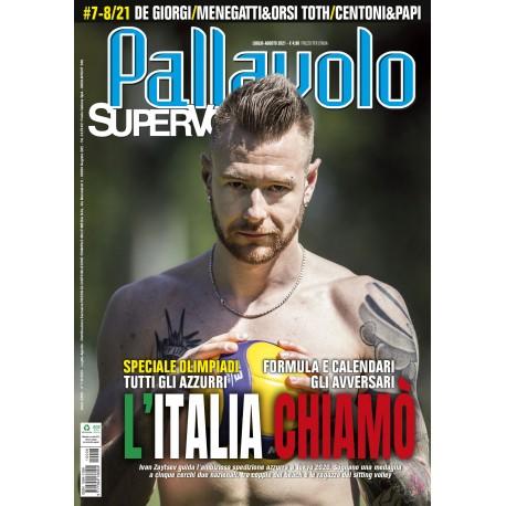 Pallavolo SUPERVOLLEY n7/8 Cartaceo Luglio/Agosto 2021
