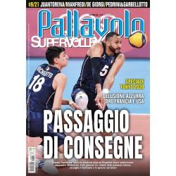 Pallavolo SUPERVOLLEY n9 Cartaceo Settembre 2021