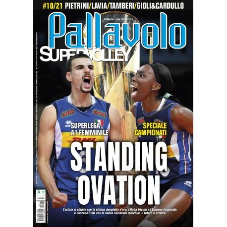 Pallavolo SUPERVOLLEY n10 Cartaceo Ottobre 2021