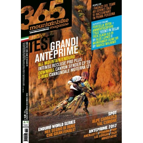 365MB Nr. 58-59 Novembre 2016 edizione cartacea