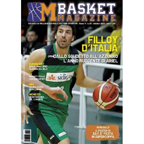 Basket Magazine #39 Ottobre 2017