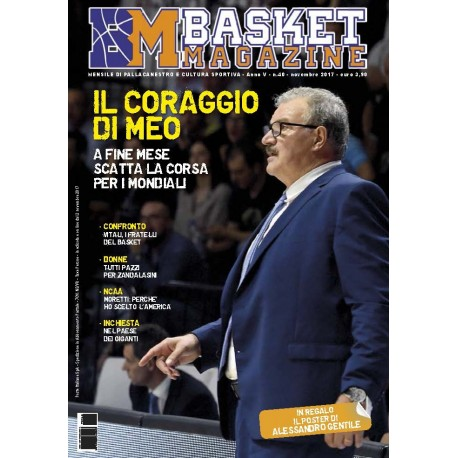 Basket Magazine #40 Novembre 2017