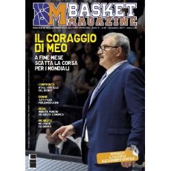 Basket Magazine n.40 Edizione Cartacea - Novembre  2017