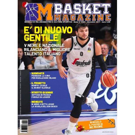 Basket Magazine #41 dicembre 2017