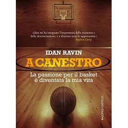 "VOLUME IDAN RAVIN ""A CANESTRO"" + ABBONAMENTO TRIMESTRALE BASKET MAGAZINE"